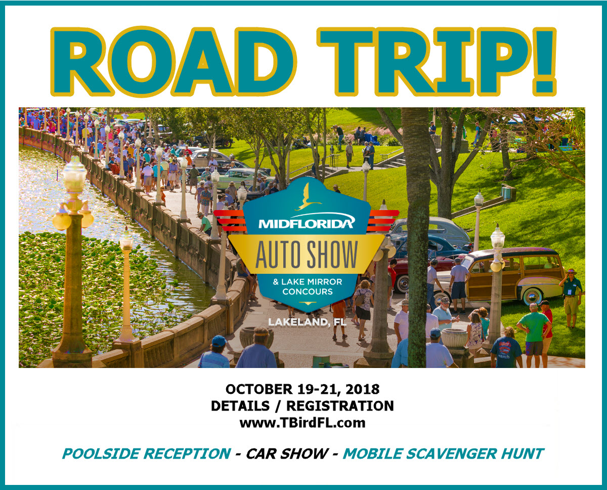 Road Trip To Lake Mirror Auto Show - Lakeland car show 2018